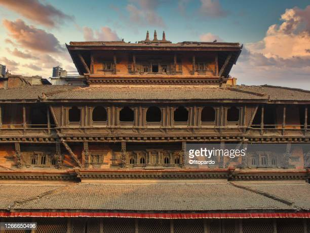 patan durbar square - palace stock pictures, royalty-free photos & images