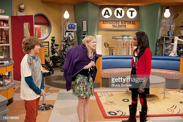 ANT FARM 'patANT pending' After Chyna struggles with her heavy backpack Olive and Fletcher see a business opportunity and come up with an idea for a...