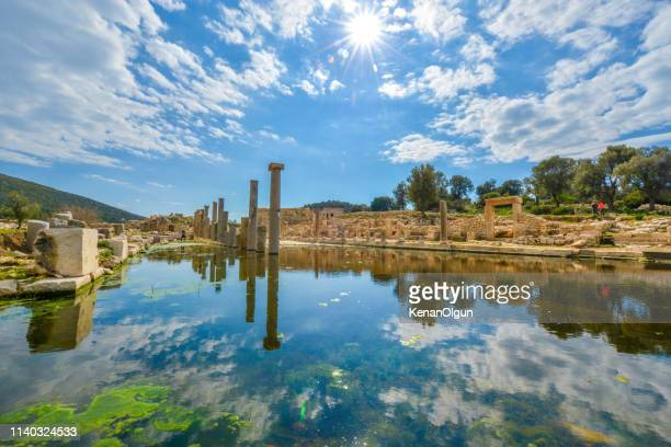 パタラキングウェイ。トルコから古代都市をパタラ。 - アンタルヤ県 ストックフォトと画像