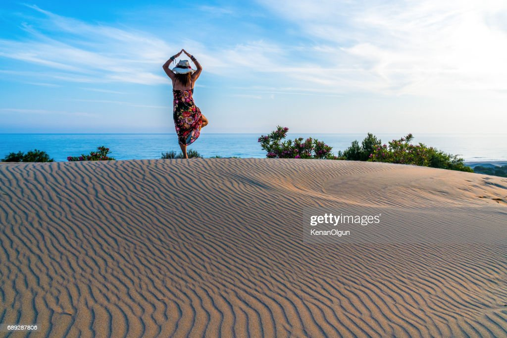 Patara sand hills. : Stock Photo