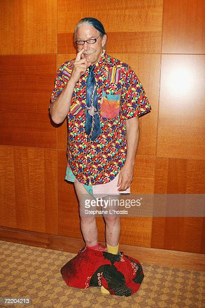 Patch Adams arrives at the An Evening With Patch Adams Fundraiser at the Sofitel Wentworth on October 18 2006 in Sydney Australia The event is to...