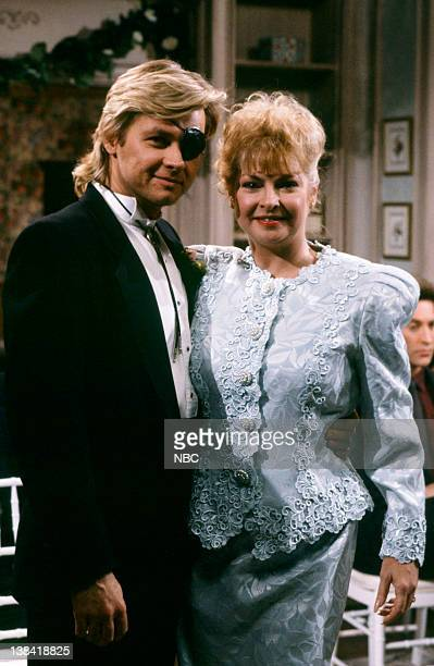 LIVES 'Patch Johnson Kayla Brady Johnson 2nd Wedding 1st Attempt' Pictured Stephen Nichols as Steve 'Patch' Johnson Joy Garrett as Jo Johnson