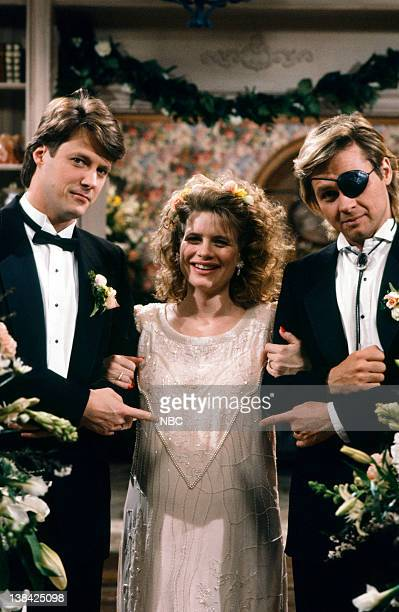 LIVES 'Patch Johnson Kayla Brady Johnson 2nd Wedding 1st Attempt' Pictured Matthew Ashford as Jack Deveraux Mary Beth Evans as Dr Kayla Brady Stephen...