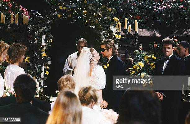 LIVES 'Patch Johnson Kayla Brady Johnson 2nd Wedding' Pictured Anne Howard as Kimberly Brady Mary Beth Evans as Dr Kayla Brady Johnson Stephen...