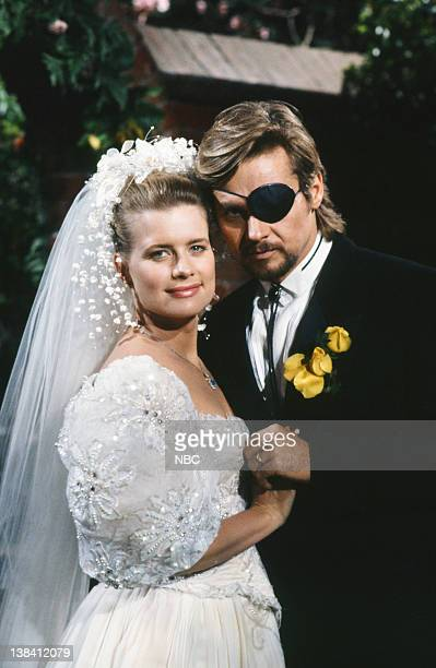LIVES 'Patch Johnson Kayla Brady Johnson 2nd Wedding' Pictured Mary Beth Evans as Dr Kayla Brady Johnson Stephen Nichols as Steve 'Patch' Johnson