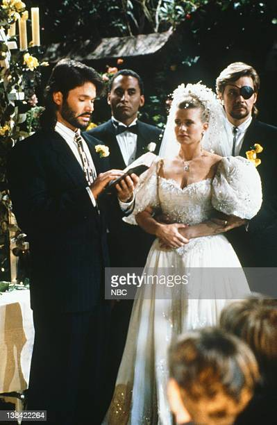 LIVES 'Patch Johnson Kayla Brady Johnson 2nd Wedding' Pictured Peter Reckell as Bo Brady Richard Biggs as Marcus Hunter Mary Beth Evans as Dr Kayla...