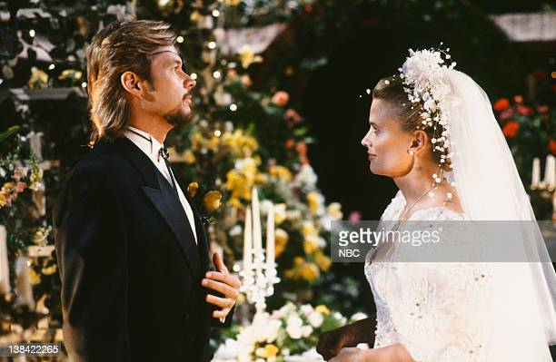 LIVES 'Patch Johnson Kayla Brady Johnson 2nd Wedding' Pictured Stephen Nichols as Steve 'Patch' Johnson Mary Beth Evans as Dr Kayla Brady Johnson