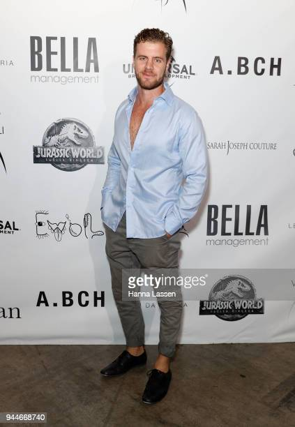 Patch May arrives ahead of the Jurassic World Fallen Kingdom Runway Show on April 11 2018 in Sydney Australia