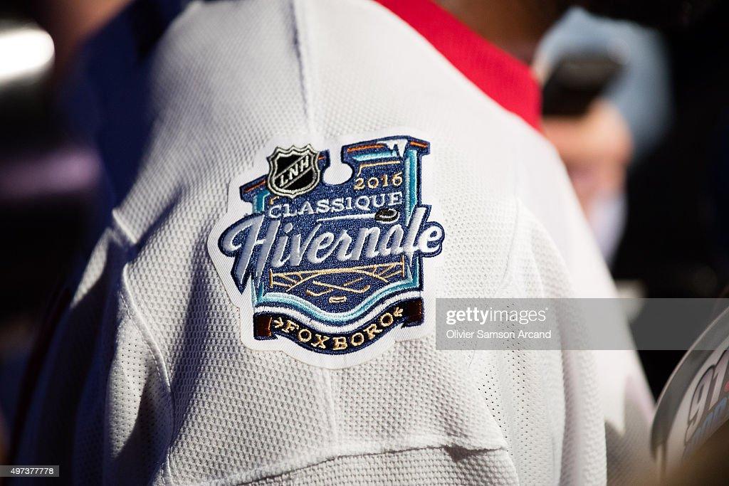 ac50aa2fb9a Montreal Canadians Unveil Jersey for Bridgestone NHL Winter Classic : News  Photo