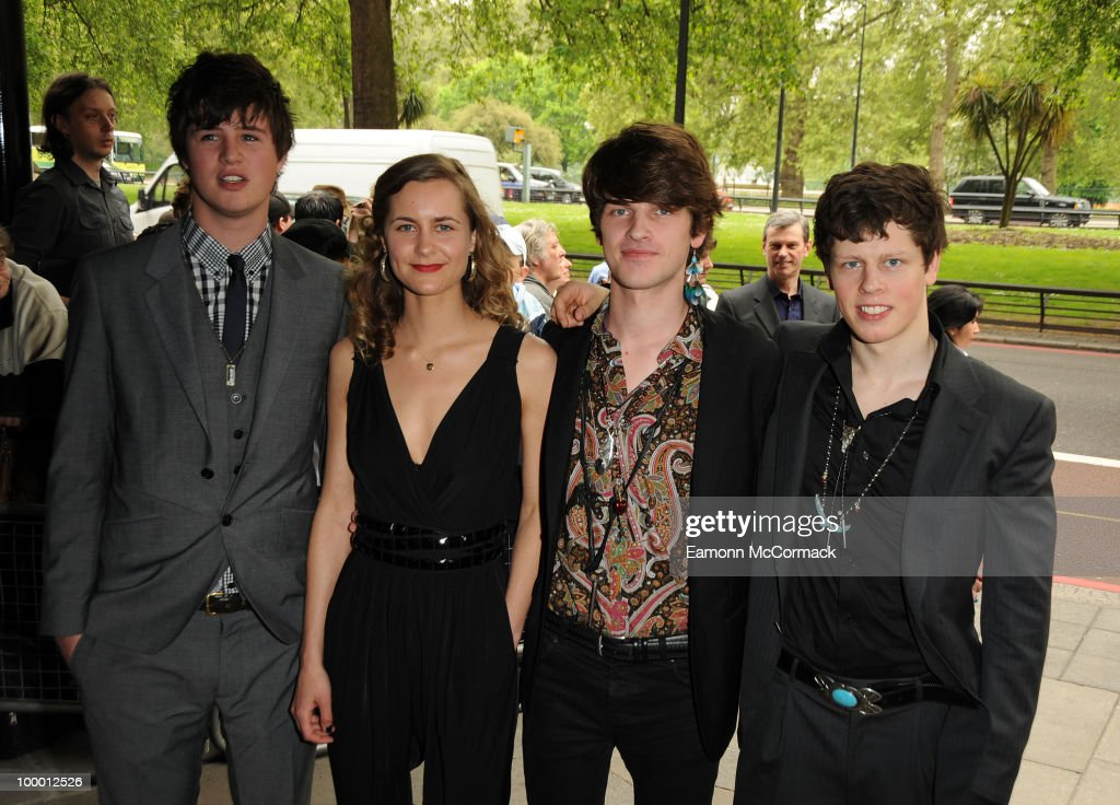 Patch William attends the Ivor Novello Awards at Grosvenor House, on May 20, 2010 in London, England.