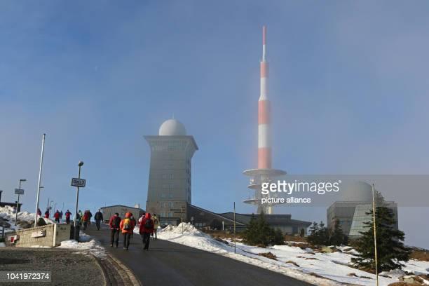 Patches of snow on the Brocken mountain near Schierke Germany 3 December 2015 PHOTO MATTHIAS BEIN/ZB | usage worldwide