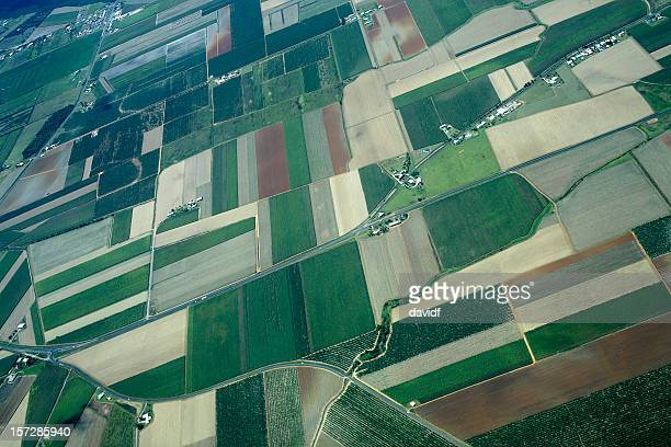 Patchwork Farmland