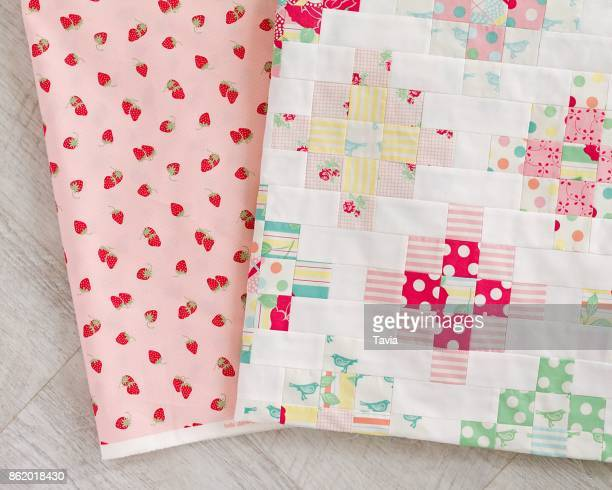 patchwork quilt - quilted stock pictures, royalty-free photos & images