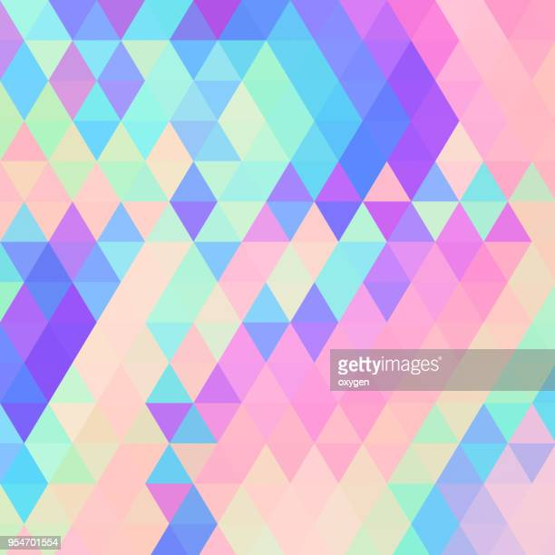 Patel colored triangular abstract background