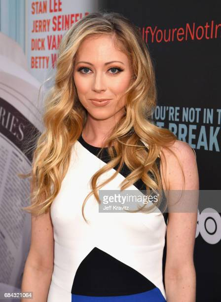 Paten Hughes at the LA Premiere of If You're Not In The Obit Eat Breakfast from HBO Documentaries on May 17 2017 in Beverly Hills California