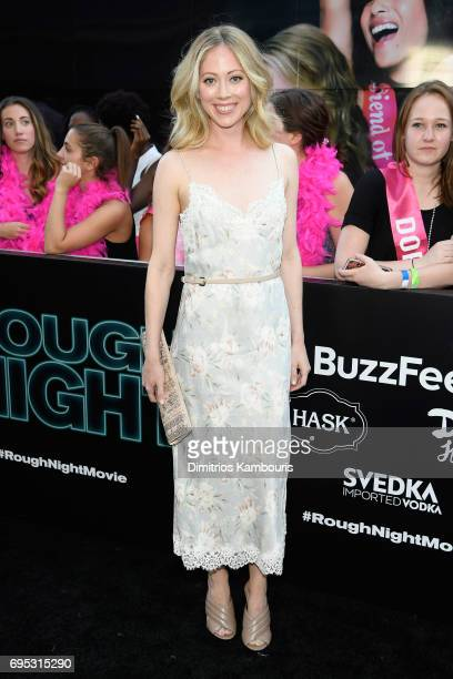 Paten Hughes attends the 'Rough Night' premeire at AMC Loews Lincoln Square on June 12 2017 in New York City