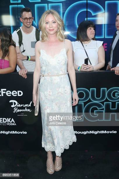 Paten Hughes attends the world premiere of 'Rough Night' at AMC Loews Lincoln Square 13 on June 12 2017 in New York City