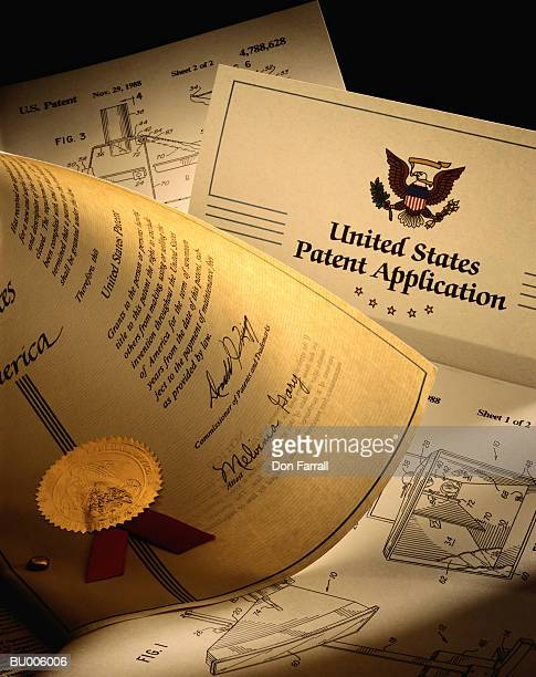 us patent application - copyright stock photos and pictures