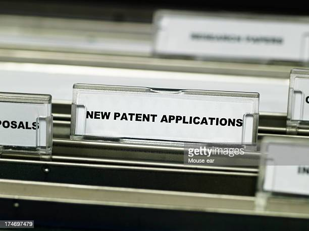 patent applications suspension file - intellectual property stock pictures, royalty-free photos & images