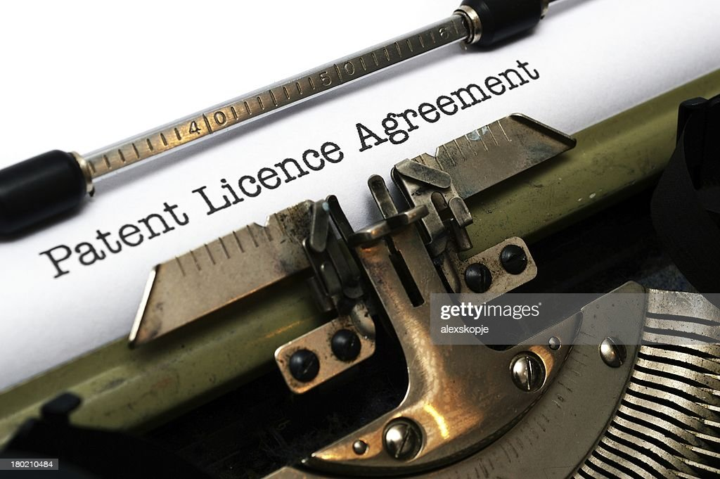 Patent License Agreement Stock Photo Getty Images