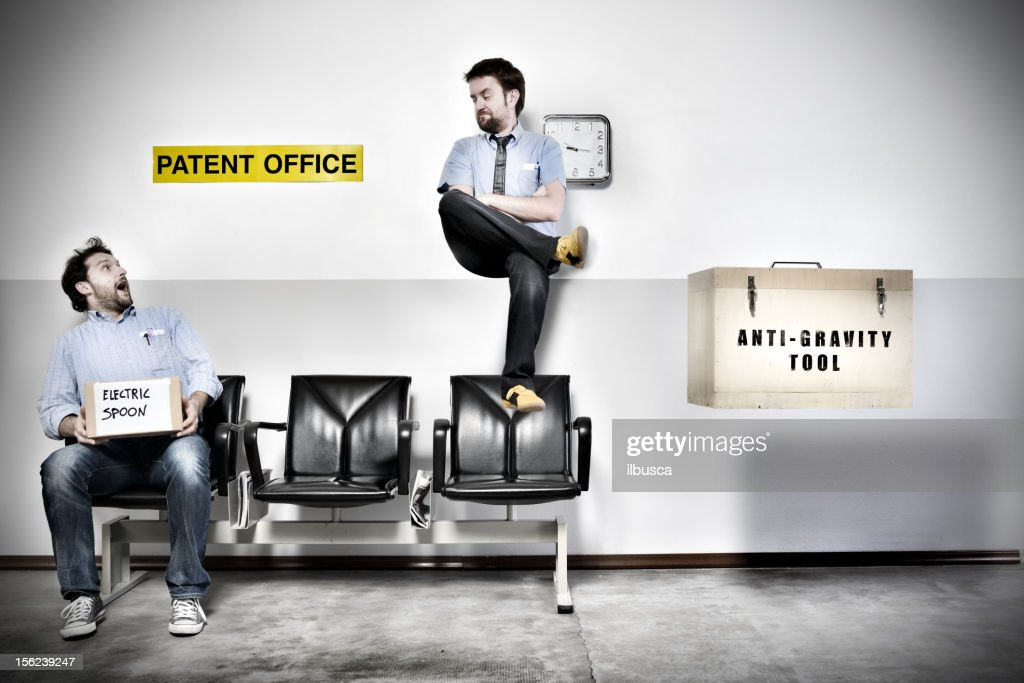Patent Office Series: Anti-gravity tool : Stock Photo
