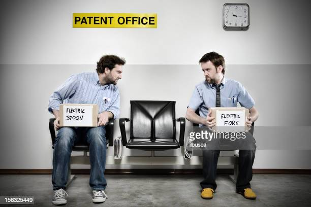 patent office series: competition - copyright stock photos and pictures