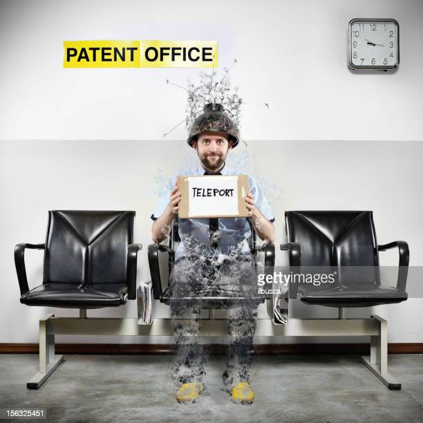 patent office series: teleport - copyright stock photos and pictures