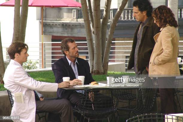 HOUSE Paternity Episode 2 Pictured Robert Sean Leonard as Dr Jack Wilson Hugh Laurie as Dr Gregory House Robin Thomas as Andy Wendy Gazelle as Paula