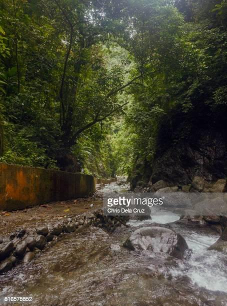 Path along the waterfalls