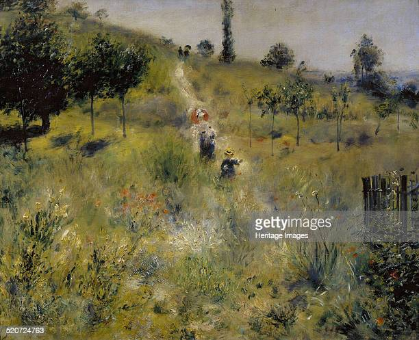 Path Leading through Tall Grass Found in the collection of Musée d'Orsay Paris