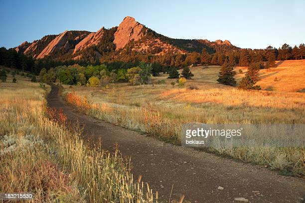 Path to Boulder Colorado Flatirons