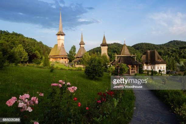 Path to church, Barsana, Maramures, Romania