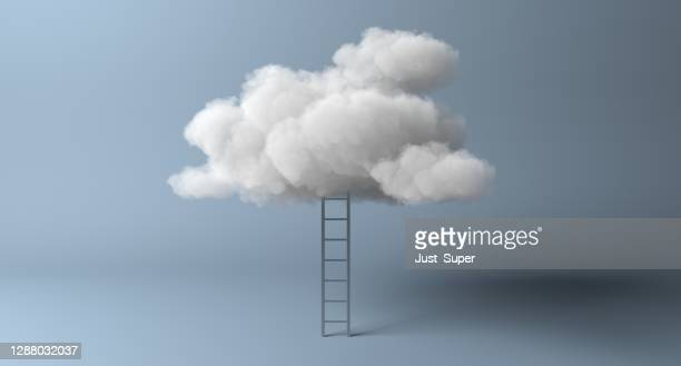 path to cloud computing modern data migration technology - cloud computing stock pictures, royalty-free photos & images