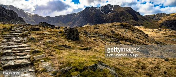 path to llyn idwal - bethesda maryland stock pictures, royalty-free photos & images