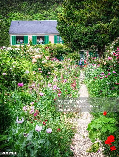 Path to Monet's Farmhouse in Giverny, France