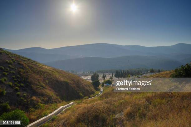 path to safed cemetery - safed stock photos and pictures