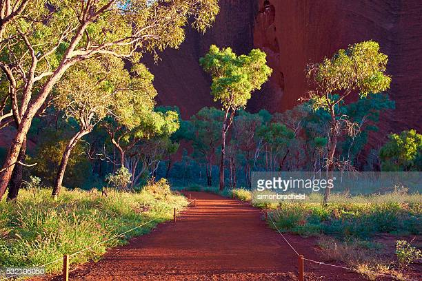 Path To The Mutitjulu Waterhole At Uluru