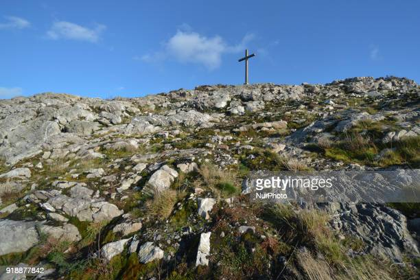 A path to the top of Bray Head On Thursday February 15 Dublin Ireland