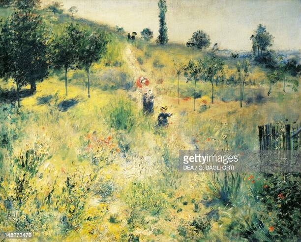 Pathway through the high grass by PierreAuguste Renoir Paris Musée D'Orsay