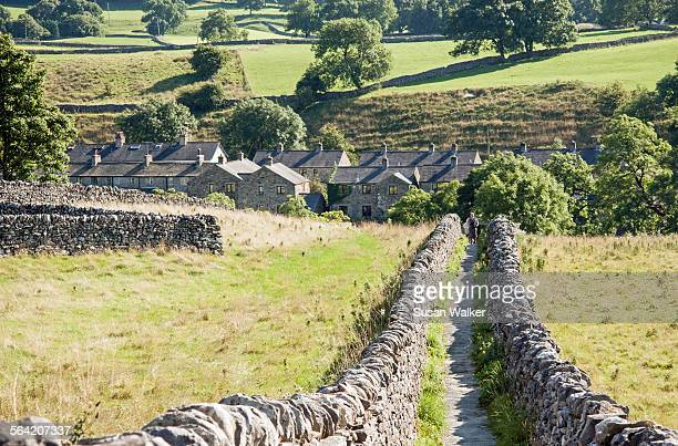 Pathway to the River Wharfe, Grassington