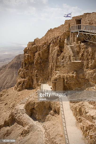 Pathway to the top of Masada