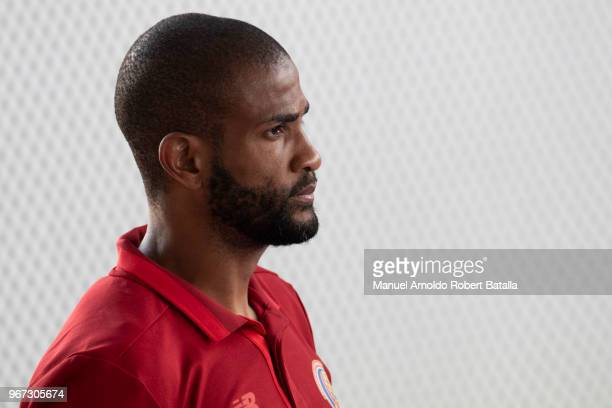 Patick Pemberton looks on during Costa Rica National Team Swearing Ceremony Ahead Its Participation in the 2018 FIFA World Cup Russia Proyecto Gol on...