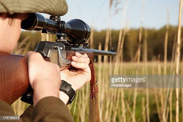 geduld ist das geheimnis für die perfekte aufnahme - jagd stock-fotos und bilder