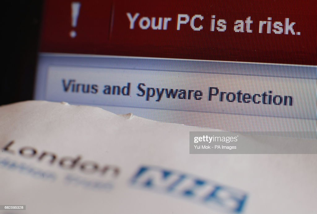 NHS Cyber Attack : News Photo