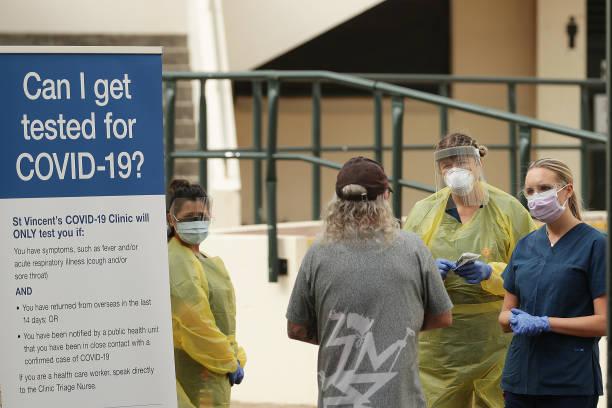 AUS: Coronavirus Testing Centres Set Up In Sydney's Eastern Suburbs