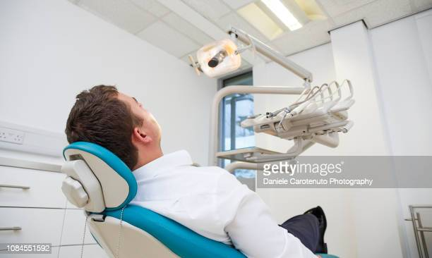 Patient at the dentist