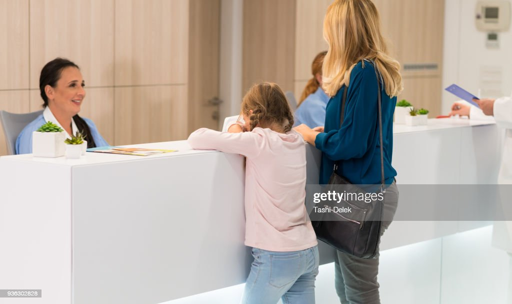 Patient At The Hospital : Stock Photo