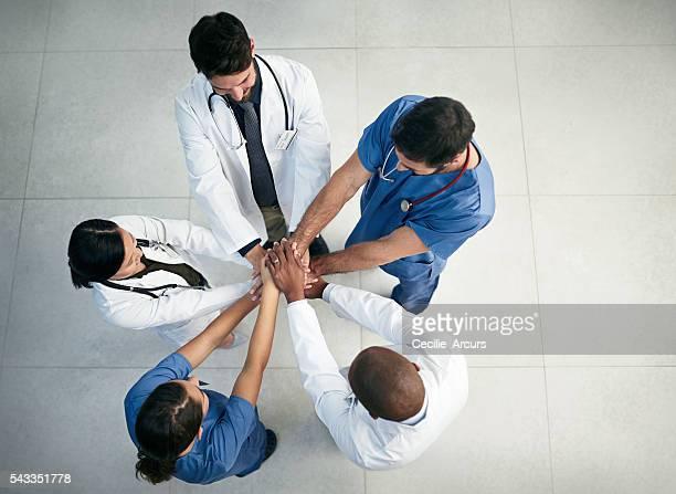 Soin des patients est un effort d'équipe