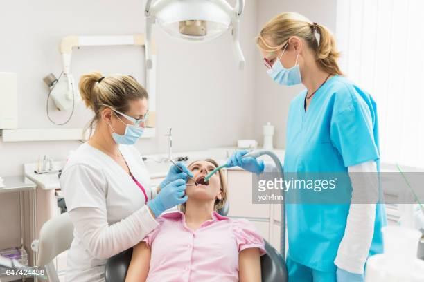 Patient & dental team