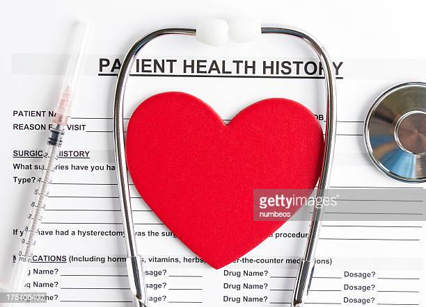 Patient health history